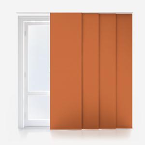 Touched By Design Supreme Blackout Orange Marmalade Panel Blind