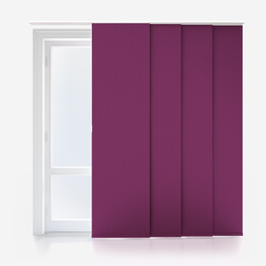 Touched By Design Supreme Blackout Plum Panel Blind
