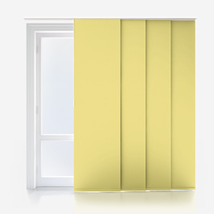 Touched By Design Supreme Blackout Primrose Yellow Panel Blind