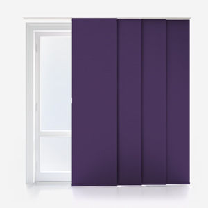 Touched by Design Supreme Blackout Purple Panel Blind