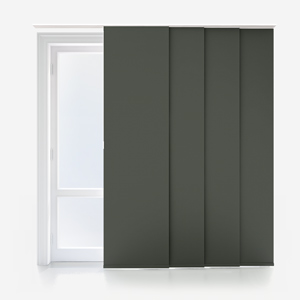 Touched by Design Supreme Blackout Shadow Grey Panel Blind