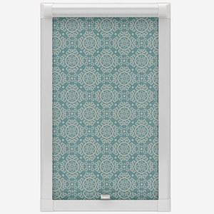 Casablanca Smokey Blue Perfect Fit Roller Blind