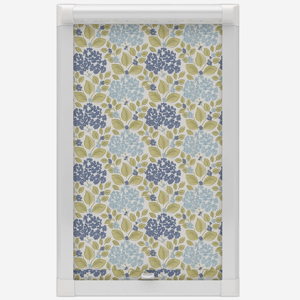 Eclipse Hydrangea Sky Perfect Fit Roller Blind
