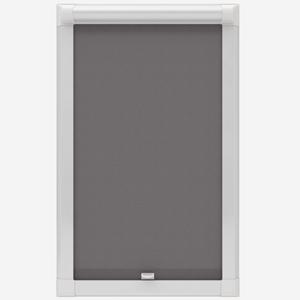 Eclipse Origin Plain Dark Grey Perfect Fit Roller Blind