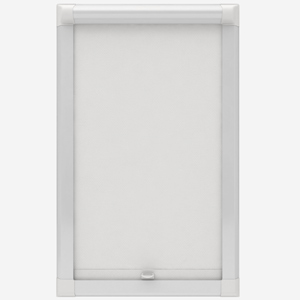 Bermuda Blackout White Perfect Fit Roller Blind