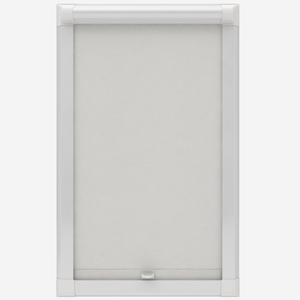 Global Bermuda Plain White Perfect Fit Roller Blind