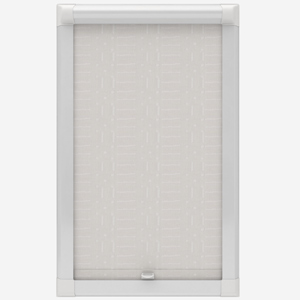 Global Prague White Perfect Fit Roller Blind