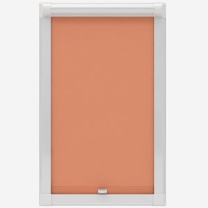 Louvolite Carnival Cantaloupe Perfect Fit Roller Blind