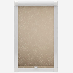 Louvolite Collina Champagne Fizz Perfect Fit Roller Blind