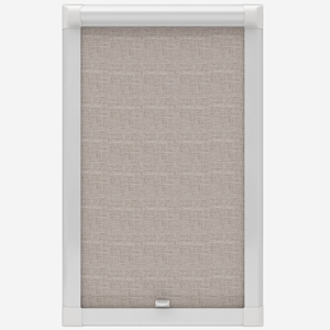 Louvolite Maine Truffle Perfect Fit Roller Blind