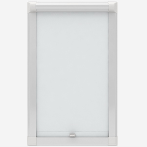 Louvolite Voile FR White Perfect Fit Roller Blind