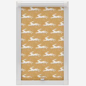 Hare Chartreuse Perfect Fit Roller Blind