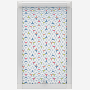 Oslo Blue Perfect Fit Roller Blind