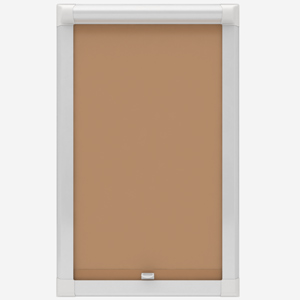 Absolute Blackout Beige Perfect Fit Roller Blind