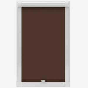 Absolute Blackout Chocolate Perfect Fit Roller Blind