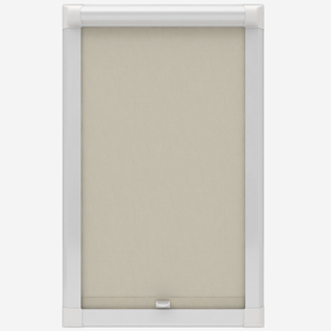 Absolute Blackout Ecru Perfect Fit Roller Blind