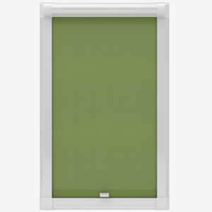 Touched By Design Absolute Blackout Green Perfect Fit Roller Blind