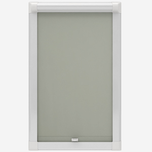 Absolute Blackout Grey Perfect Fit Roller Blind