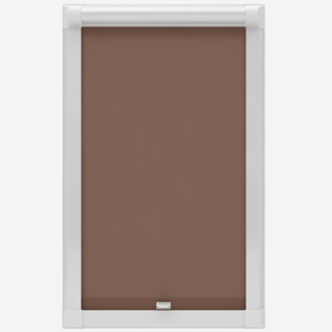 Absolute Blackout Taupe Perfect Fit Roller Blind
