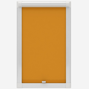 Touched By Design Absolute Blackout Yellow Perfect Fit Roller Blind