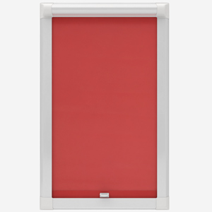 Touched by Design Deluxe Plain Coral Perfect Fit Roller Blind