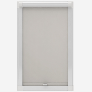 Deluxe Plain Cream Perfect Fit Roller Blind