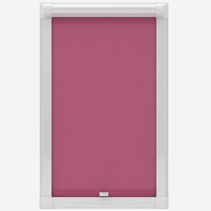 Touched by Design Deluxe Plain Hot Pink Perfect Fit Roller Blind