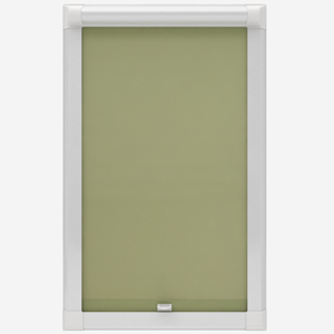 Touched by Design Deluxe Plain Lime Perfect Fit Roller Blind