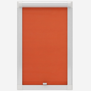 Touched by Design Deluxe Plain Orange Marmalade Perfect Fit Roller Blind