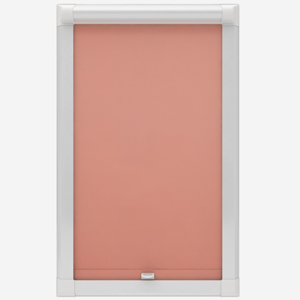 Touched by Design Deluxe Plain Papaya Perfect Fit Roller Blind