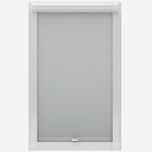 Touched by Design Deluxe Plain Pebble Grey Perfect Fit Roller Blind