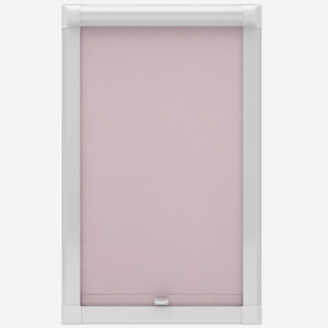 Touched by Design Deluxe Plain Peony Pink Perfect Fit Roller Blind