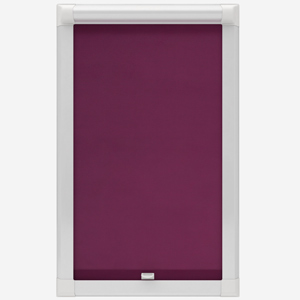 Touched by Design Deluxe Plain Plum Perfect Fit Roller Blind