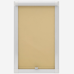 Touched by Design Deluxe Plain Primrose Yellow Perfect Fit Roller Blind