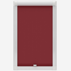 Touched by Design Deluxe Plain Red Perfect Fit Roller Blind