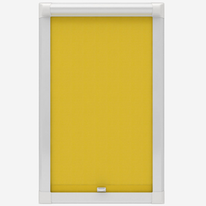 Touched by Design Deluxe Plain Sunshine Yellow Perfect Fit Roller Blind