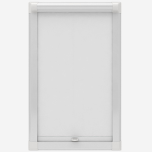 Deluxe Plain White Perfect Fit Roller Blind