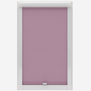 Touched by Design Deluxe Plain Wisteria Perfect Fit Roller Blind