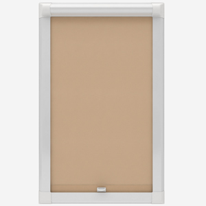 Touched By Design Optima Dimout Beige Perfect Fit Roller Blind