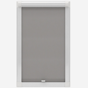 Touched By Design Optima Dimout Light Grey Perfect Fit Roller Blind