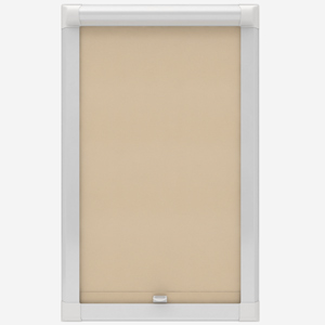 Touched By Design Optima Dimout Natural Perfect Fit Roller Blind
