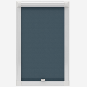 Touched by Design Supreme Blackout Airforce Blue Perfect Fit Roller Blind