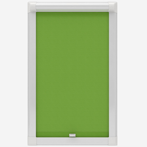 Touched by Design Supreme Blackout Apple Green Perfect Fit Roller Blind