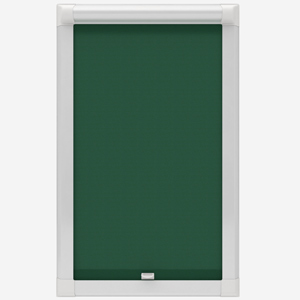 Touched by Design Supreme Blackout Forest Green Perfect Fit Roller Blind