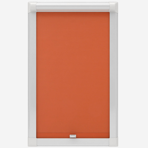 Touched by Design Supreme Blackout Orange Marmalade Perfect Fit Roller Blind