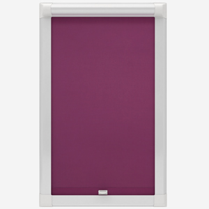 Touched by Design Supreme Blackout Plum Perfect Fit Roller Blind