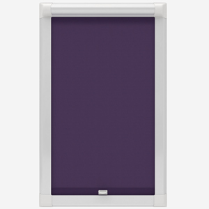 Touched by Design Supreme Blackout Purple Perfect Fit Roller Blind