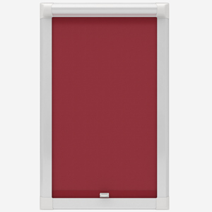 Touched by Design Supreme Blackout Red Perfect Fit Roller Blind