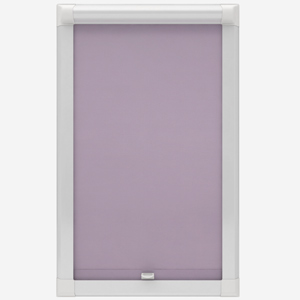 Touched by Design Supreme Blackout Wisteria Perfect Fit Roller Blind