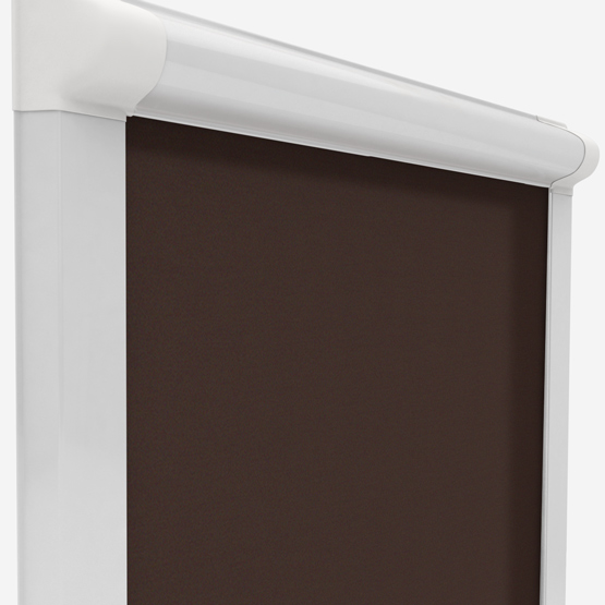 Touched By Design Optima Dimout Chocolate perfect_fit_roller